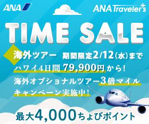 【国内旅行】ANA SKY WEB TOUR