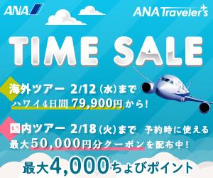【海外旅行】ANA SKY WEB TOUR
